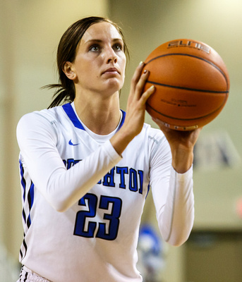White & Blue Review: 2014-12-30 Georgetown vs CUWBB &emdash;
