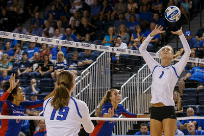 White & Blue Review: 2016 09 08 Kansas vs CUVB &emdash;