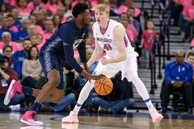 White & Blue Review: 2018-01-27 Georgetown vs CUMBB &emdash;