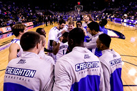 Creighton Bluejays Pregame Huddle