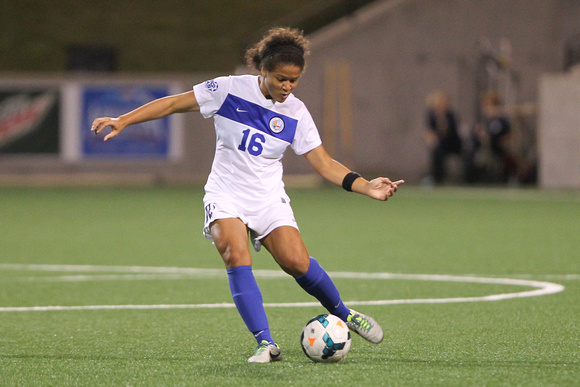 White & Blue Review: 2013-09-13 CUWSOC vs South Dakota &emdash;