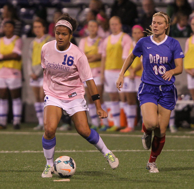 White & Blue Review: 2013-10-10 DePaul vs CUWSOC &emdash;