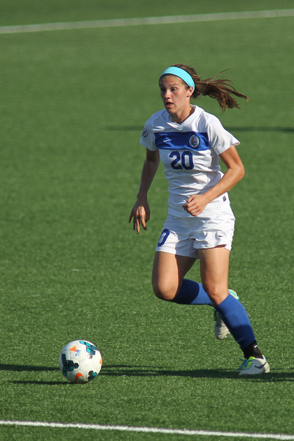 White & Blue Review: 13-08-30 CUWSOC vs North Dakota &emdash;